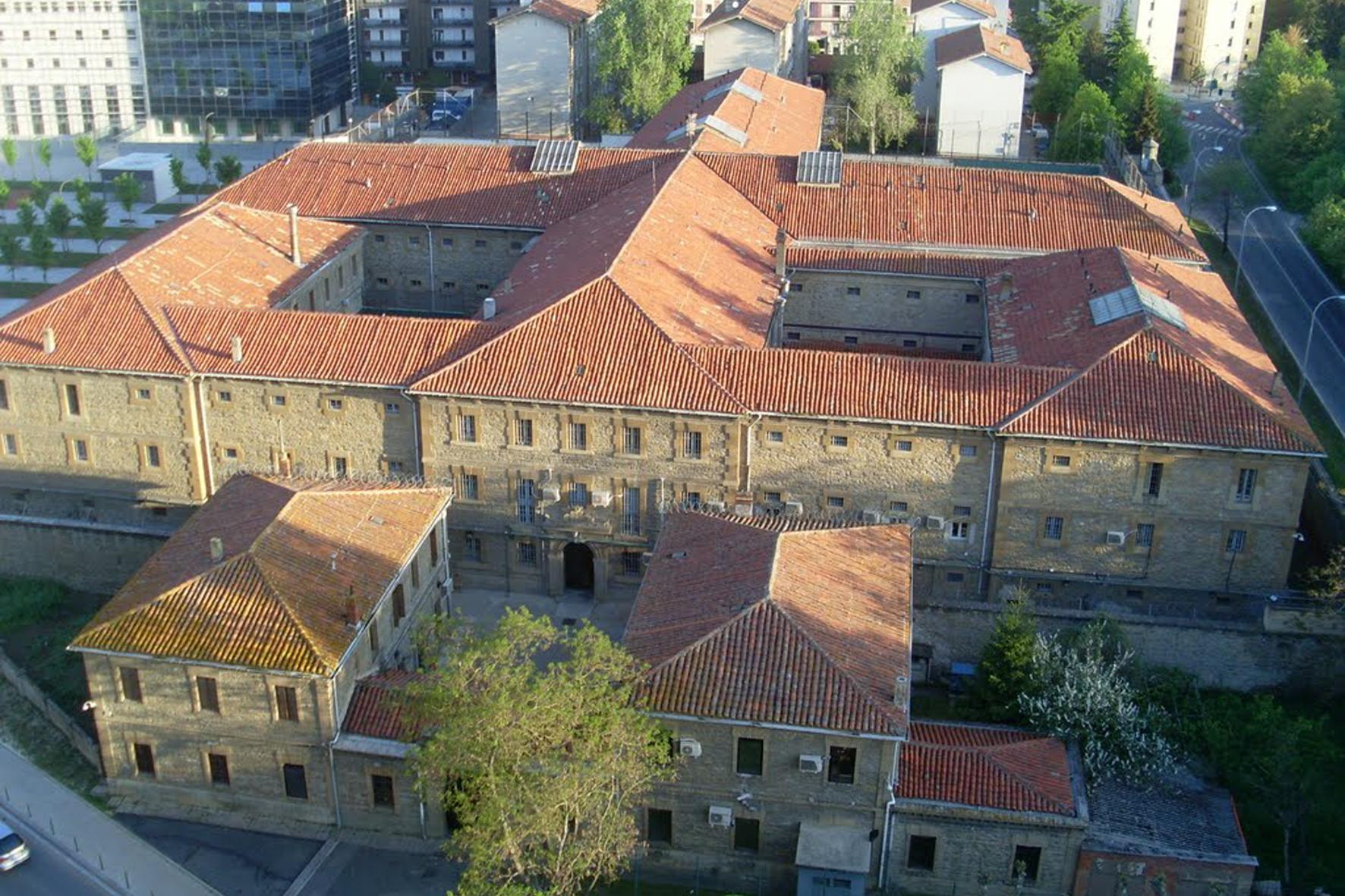 Cárcel de Pamplona derribada en 2012