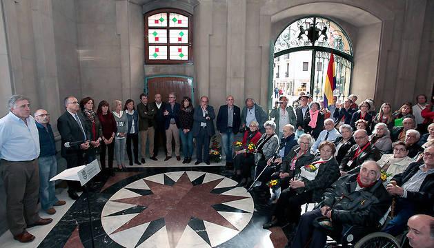 Saludo del Alcalde de Pamplona Joseba Asirón