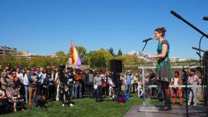 Intervención de Amaia Lerga en el acto del 2019